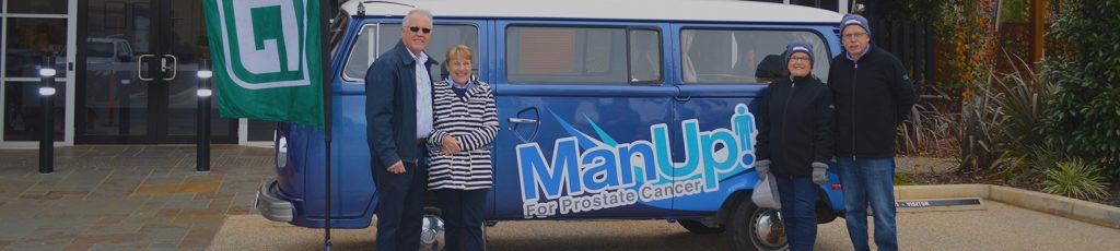 Manup! For Prostate Cancer Team Return From Successful Tour