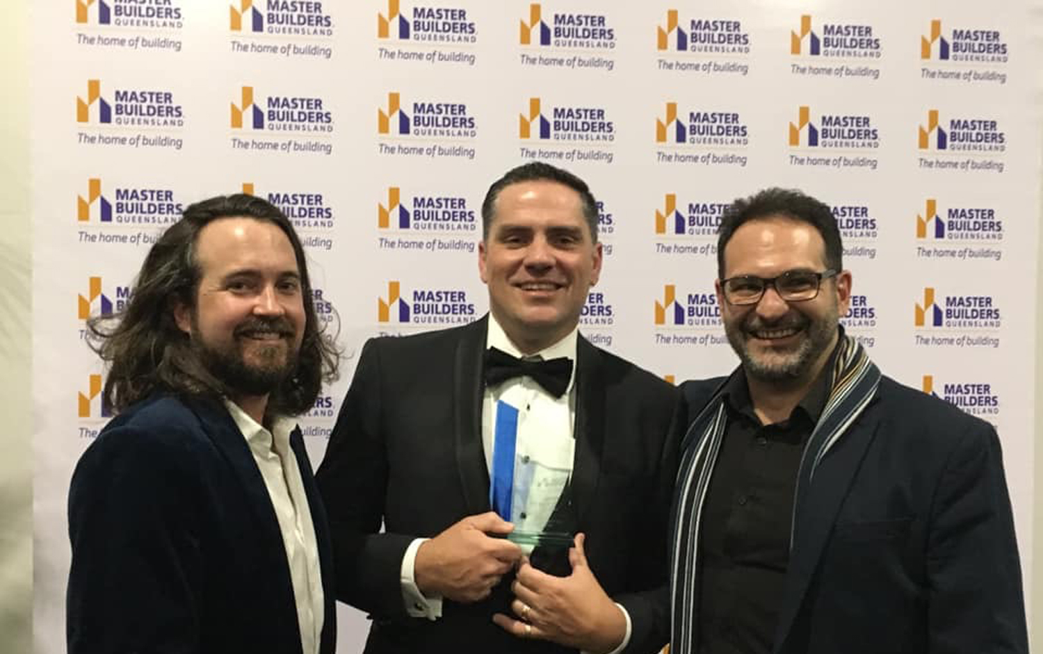Two wins for the FKG Group at the Master Builders Brisbane Housing and Construction Awards evening