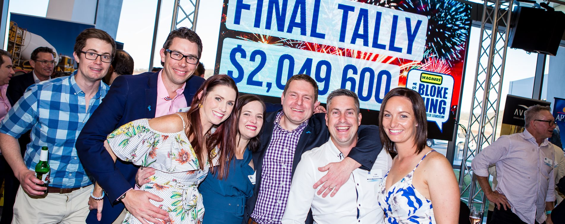Helping 'It's a Bloke Thing' raise record breaking funds for prostate cancer